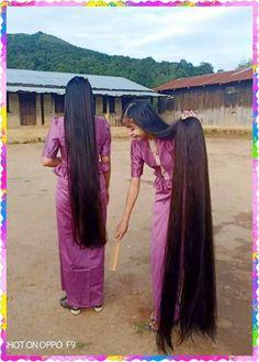 Really Long Hair, Super Long Hair, Hair 24, Rapunzel Hair, Long Hair Video, Silky Hair, Beautiful Long Hair, Loose Hairstyles, Brushing