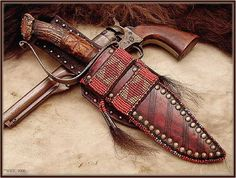 Custom Leather Knife Sheaths   ... Bowie - Page 2 - The Knife Network Forums : Knife Making Discussions