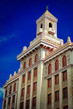 Edificio Bacardi/ Bacardi Building, Havana by JengaPix