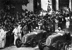TEMPORADA DE 1936 - Pintacuda e Marinoni na largada do GP Cidade do Rio de Janeiro - Rio de Janeiro - Brasil. Felipe - Álbuns da web do Picasa