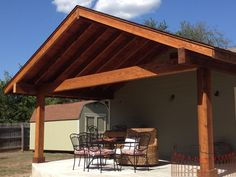 Awesome Patio With Gable Roof | Cedar Patios
