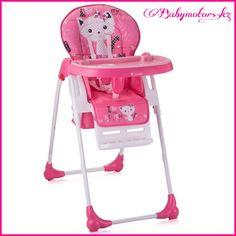 Очень легкий, компактный и удобный стульчик Lorelli Oliver Pink Kitten ❗ ✅Регулировка высоты сиденья. ✅Съемный поднос в столике. ✅Регулировка столика ✅Съемный, моющийся чехол кресла. ✅Пятиточечные ремени безопасности. ✅Корзина для аксессуаров. ✅Регулируемая подставка для ног. ✅Колесики для удобного перемещения. ✅Вес:7.24 кг.  #BertoniLorelli #стульчикдлякормления #моймалыш #магазиндетскихтоваров #вседлядетей #babymotorskz