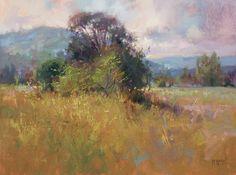Textures of Summer by Richard McKinley Oil ~ 11 x 14