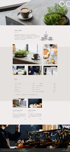 Discover recipes, home ideas, style inspiration and other ideas to try. Food Web Design, Web Design Trends, Website Design Inspiration, Web Layout, Layout Design, Coffee Shop Website, Web Cafe, Graphic Design Resume, Newspaper Design
