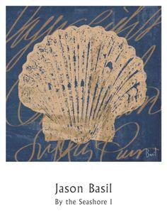 By the Seashore I Print by Jason Basil at Art.com