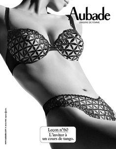 Les leçons de Séduction par Aubade  lecondeseduction  aubade  lingerie…  Sous Vetement Feminin 50877d815