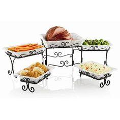 17 best tier serving images wrought iron dinnerware kitchen gadgets rh pinterest com