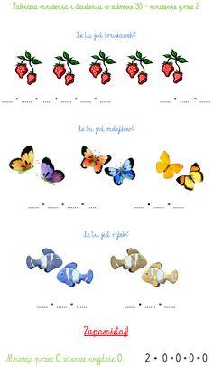 Ilustracje, Źródło: Internet. Repeated Addition Multiplication, Math 2, Montessori, Make It Simple, Teaching, School, Internet, Activities, 1st Grades