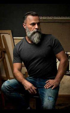 Stil für Ältere Männer Bart Haarschnitt, Bart Rasur, Männer Frisur Kurz, Männer  Frisuren c166099583