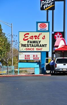 a must stop in Gallup, NM is Earl's Restaurant on Old Historic Route 66. Indian jewelry venders are located outside and approach your table with their handmade creations. Menu is varied and very inclusive.