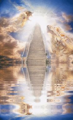 Animated Stairway To Heaven gif | photo reflection-stairway-to-heaven-2-125.gif