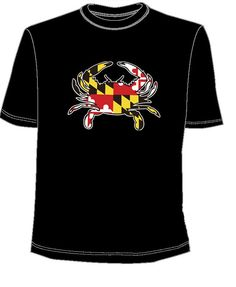 #Maryland flag black shirt @BookHolders for $12 University Of Maryland, Flag, Mens Tops, T Shirt, Stuff To Buy, Fashion, Moda, Tee, Fasion