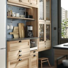 IKEA kitchen: the most beautiful models from the Swedish giant - Elle Décoration Ikea Kitchen Design, Kitchen Decor, Kitchen Ikea, Maple Kitchen Cabinets, Kitchen Sets, New Kitchen, Kitchen Furniture, Kitchen Interior, Furniture Decor