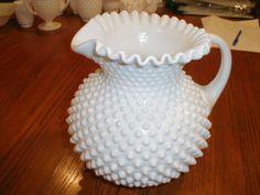 Fenton pitcher.  #milk_glass