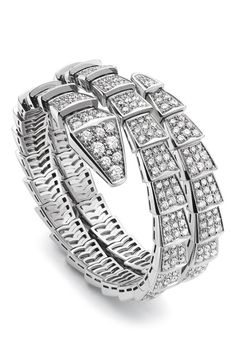 bvlgari serpenti 18ct whitegold and diamond ring on diamond jewelry pinterest white gold diamond and ring