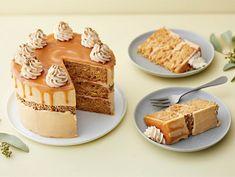 Suolakinuskikakku   Valio Bakewell Tart, Tiramisu, Sweet Treats, Dairy, Cheese, Baking, Cake, Ethnic Recipes, Desserts