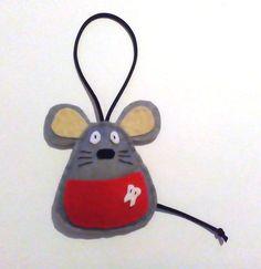 ratoncito perez de fieltro para guardar el diente