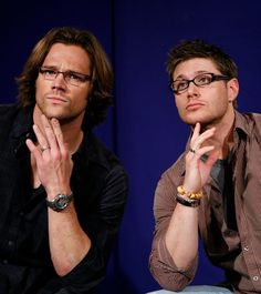"...not every ""hot guy"" with glasses works for me. These two just look like models with lenses. You guys know you have to impress me with big fancy words and theoretical nonsense, right?"