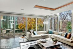 A Washington mansion listed for $13.5 million in December just dropped in price.