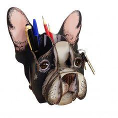 Esse é o novo e incrível Porta Treco Bulldog Francês!   istickonline.com