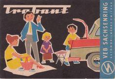Trabant 500 Prospectus 1961
