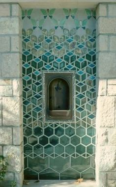 indian tile fountain - Google Search