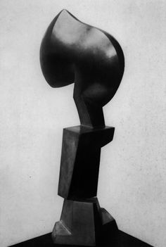 Chessman, 1958 by Jean Arp Mixed Media Sculpture, Art Sculpture, Stone Sculpture, Abstract Sculpture, Jean Arp, Contemporary Sculpture, Contemporary Art, Sophie Taeuber Arp, French Sculptor