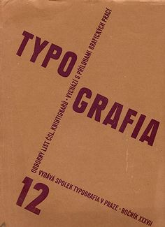 Typografia December 1930 Front Cover