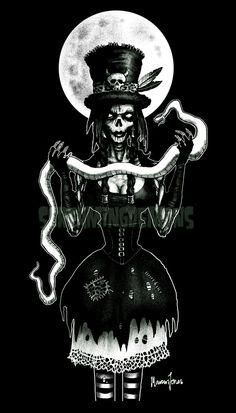 ☆ Voodoo Zombie -:¦:- Artist Marcus Jones ☆