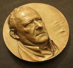 Adam Michnik - medal on Behance
