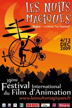 LES NUITS MAGIQUES - CUB : en novembre/décembre, festival international du film d'animation avec une programmation spéciale jeune public