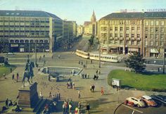 Ansichtskarte Hannover Bahnhofsvorplatz 1960