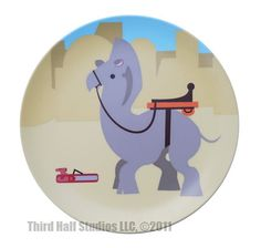 DINE ON ADORABLE STAR WARS ANIMALS WITH THESE DECORATIVE PLATES FROM THIRD HALF STUDIOS: Ronto