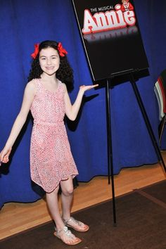 Annie The Musical– Lilla Crawford