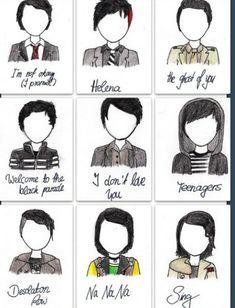 Frank Iero music vid looks. I think Helena and Teenagers are my favorites.//