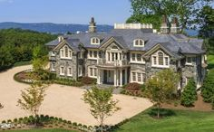 18,000 Square Foot Newly Built Stone Mansion In Tarrytown, NY | Homes of the Rich