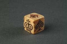 Sailors Scrimshaw Marine Ivory Gambling Dice - The Association of Art and Antique Dealers - LAPADA