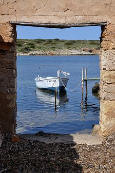 A boutique cruise is a unique sailing experience that will take you to places you never imagine on a comfortable home-like ship. Ibiza Formentera, Balearic Islands, Sail Away, Through The Window, Paradise Island, Architecture Old, Fairy Land, Water Crafts, Beautiful Landscapes