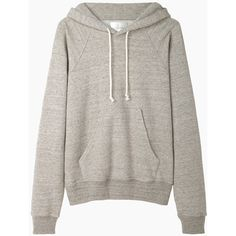 La Garçonne Moderne Boy Hooded Sweatshirt ($490) ❤ liked on Polyvore featuring tops, hoodies, sweatshirts, sweaters, sweatshirt, long tops, long hoodies, slouchy sweatshirt, sweatshirt hoodie and heather grey hoodie