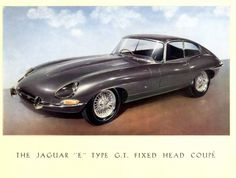 1961 E-Type Jaguar Launch Brochure,***Research for possible future project.