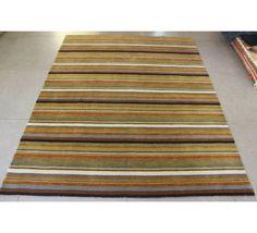 Tapete Indiano Dunas Listrado Mix Color 2,00 x 2,50m - Passie Tapetes e Decoração