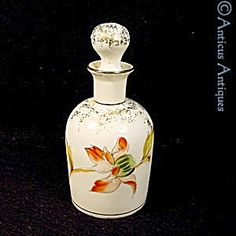 Porcelain French Perfume Bottle, Circa 1900. (Image1)