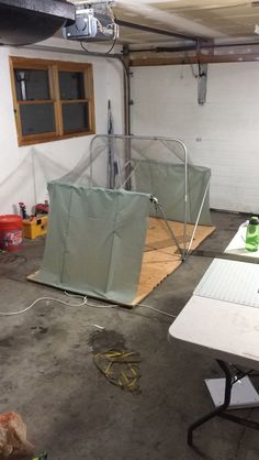 tent top and ends