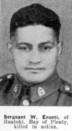 Died Crete 1941 after performing a haka and then charging the German army. Died aged 36 leaving behind six children, including my husband's grandmother