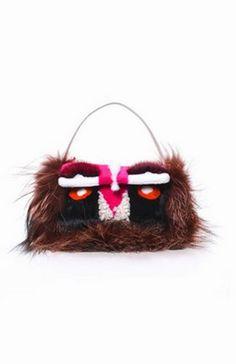3c3036864c01 The Fendi Fur Monster is now a Baguette Bag.