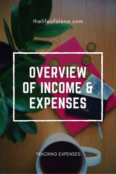 #overviewofincomeandexpenses #trackingexpenses #trackingspending