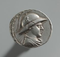 Tetradrachm, 170-145 BC Afghanistan, Bactrian period (3rd-2nd Century BC), Eukratides I
