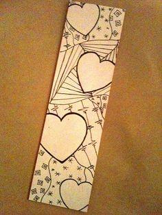 Zentangle Bookmark | ThinkingOfBlue | Flickr