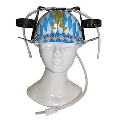 Drink to your heart's content with this #Oktoberfest Beverage Holder Hat!