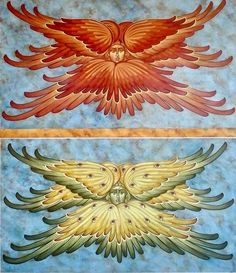 Seraphim & Cherubim by Michael Kapeluck Byzantine Icons, Byzantine Art, Religious Icons, Religious Art, Order Of Angels, Rennaissance Art, Seraph Angel, Futuristic Art, Art Icon